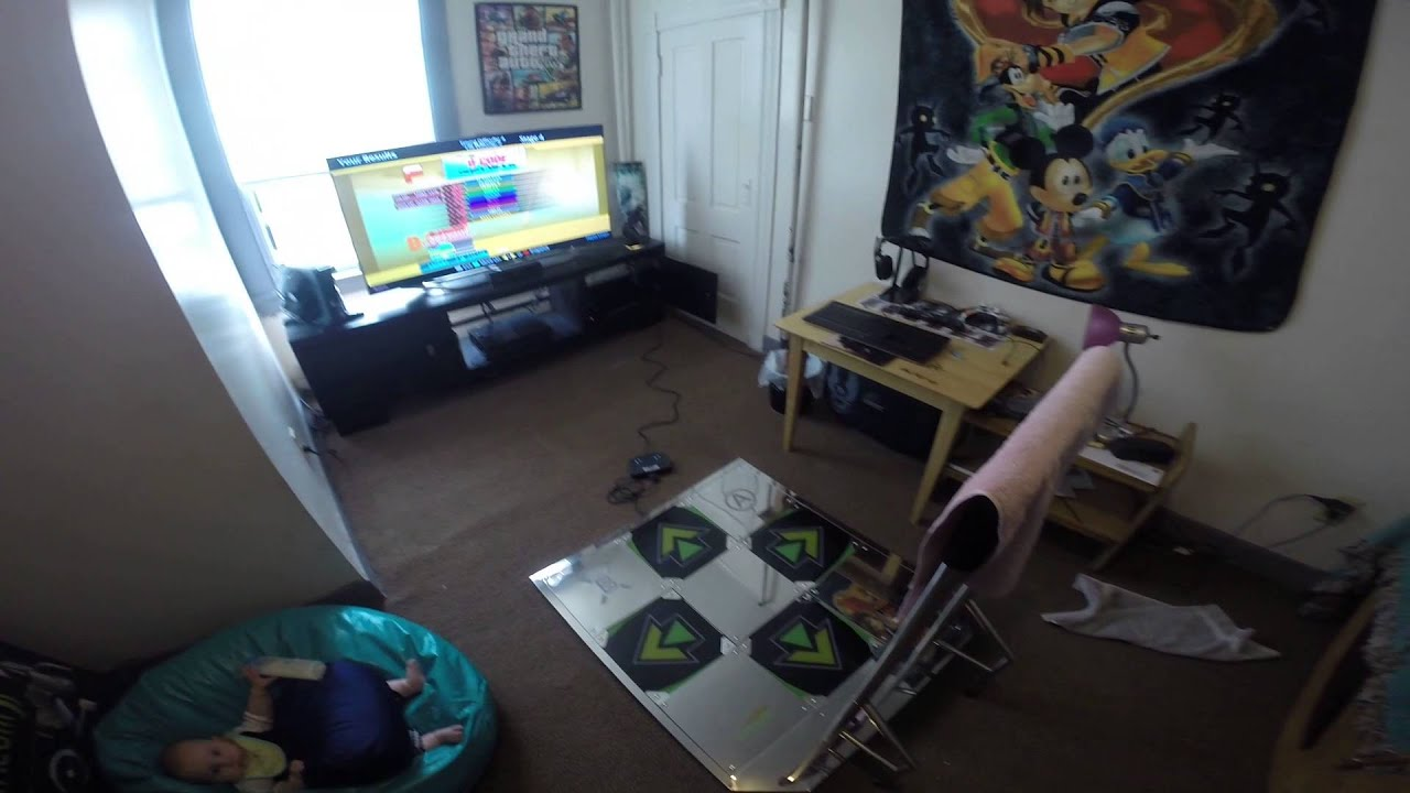 Review Of Dance Dance Revolution Metal Ddr Pad W Bar Youtube