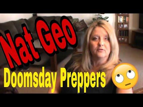 Nat Geo and Doomsday Preppers came a KNOCKIN' - Thanks but no Thanks!