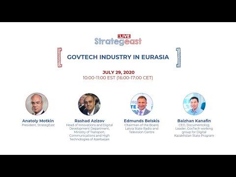 StrategEast Live: GovTech Industry in Eurasia