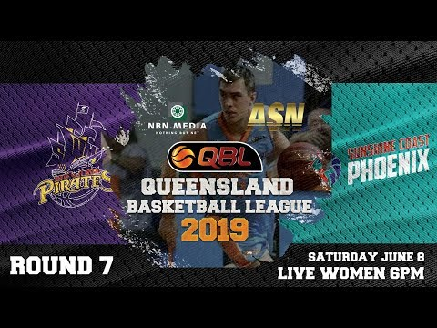#QBL19 Round 7 - Pirates vs Phoenix (Women)