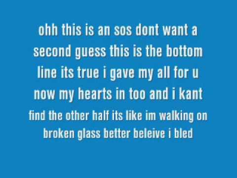 sos jonas brothers lyrics