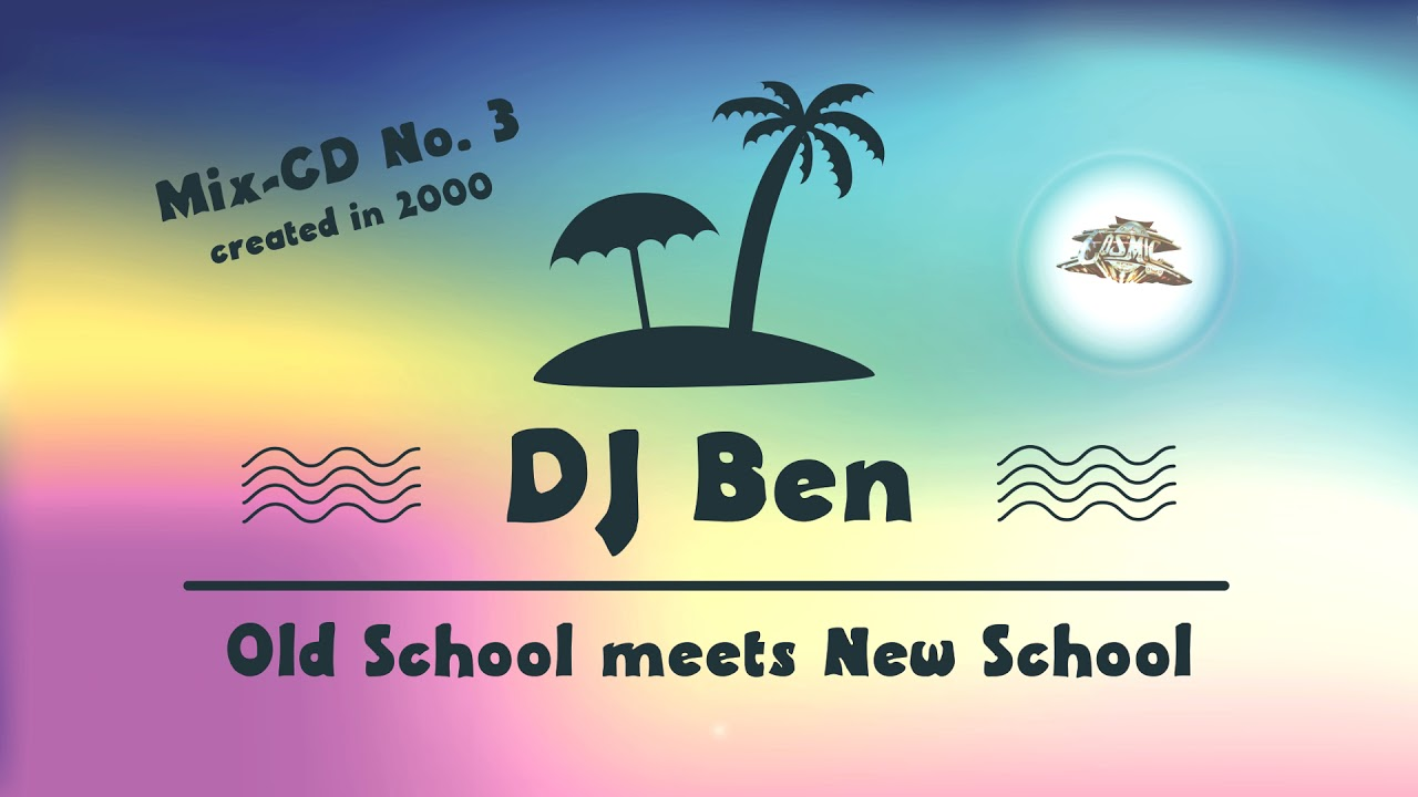DJ Ben - Afro Cosmic Mix-CD No  3 - Full Mix - created in 2000