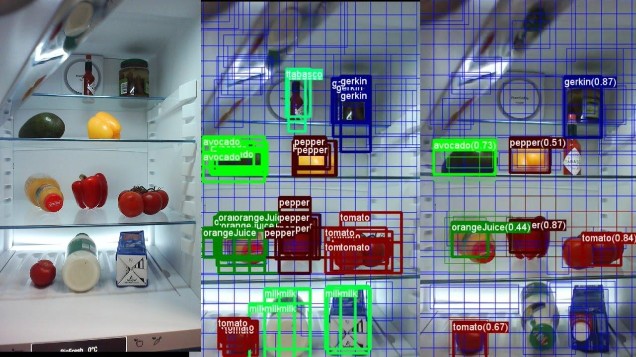 CNTK Image Detection FastRCNN Grocery Dataset