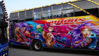 Thailand's weird and wonderful painted custom buses Documentary (Transports of Delight)