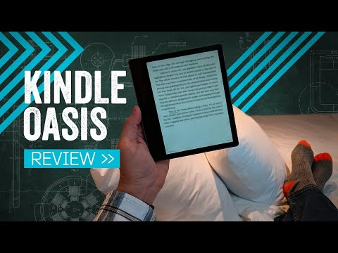 Kindle Oasis Review: The Bookworm's Best Bud