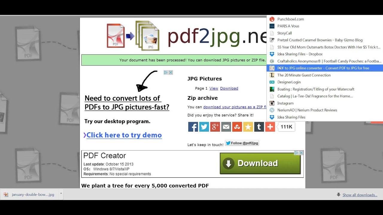 convert pdf to jpg online safely