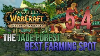 WoW MoP Gold Guide 5.4 - Best Jade Forest Farming Location - (2500+ g/hr)