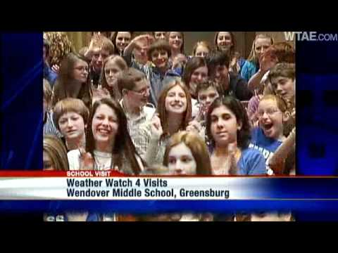 Weather Watch 4 School Visit: Wendover Middle School
