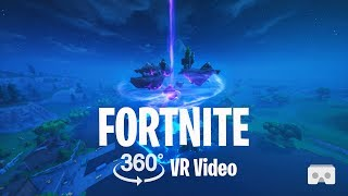 Fortnite Season 6 Fortnitemares Halloween 360° VR Gameplay Video 4K | Virtual Reality