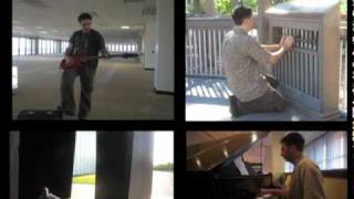 You Get What You Give (New Radicals) Quartet cover: piano, steel drum, bass, Tillery Park