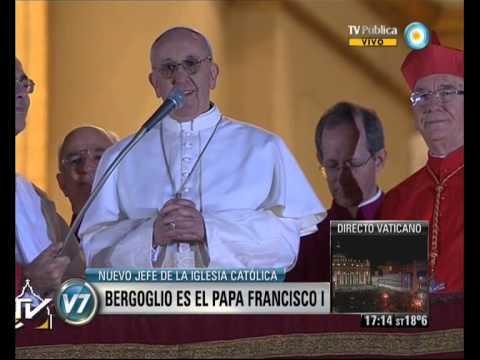 Visión 7: Bergoglio es el Papa Francisco I (1)