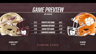 Nole  nsiders Game Preview Clemson