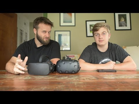 Oculus Touch vs HTC Vive 2017