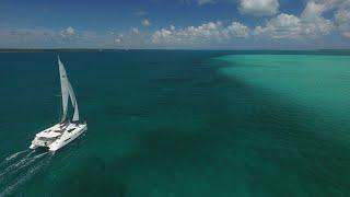 Abaco Bahamas Sailing Vacation Moorings 4000 Leopard Catamaran Drone DJI GoPro
