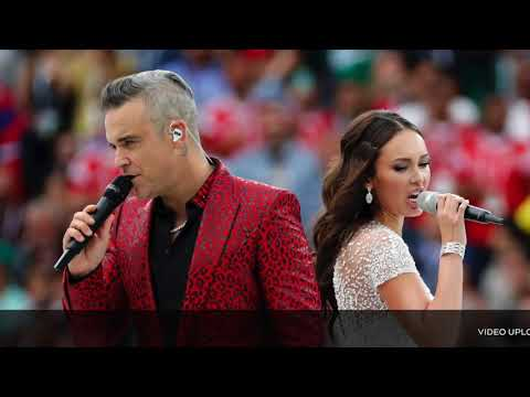 Robbie Williams - Angels ft. Aida Garifullina (HQ) - Live at Moscow 2018 -