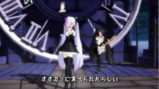 【MMD】ROMEO and CINDERELLA-Full-Lyrics【OFF VOCAL】
