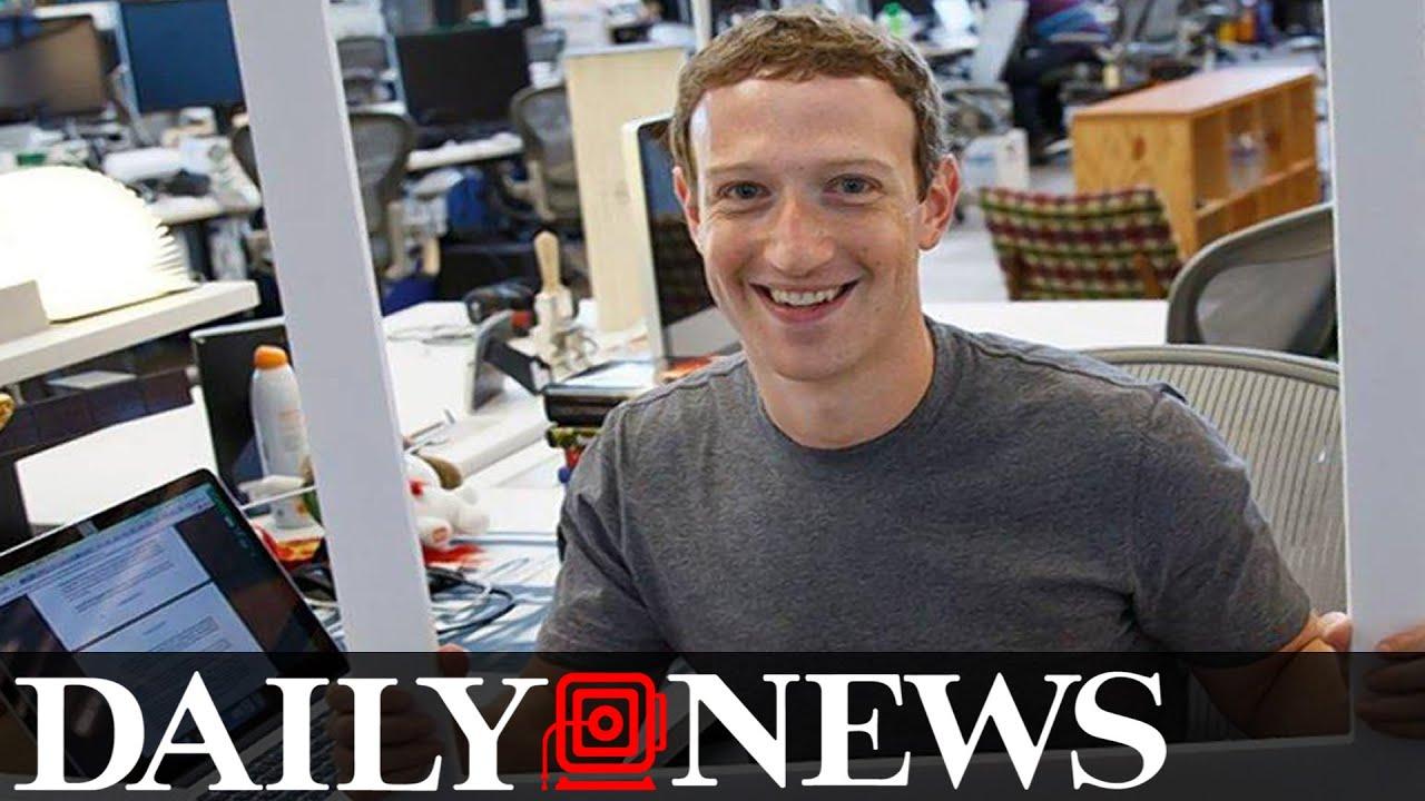 Photo of Mark Zuckerberg Shows He's Paranoid Too