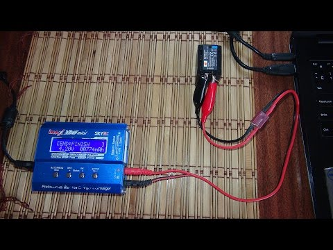 Тест аккумулятора на реальную ёмкость от фото видео техники Nikon (DSTE, DA72)