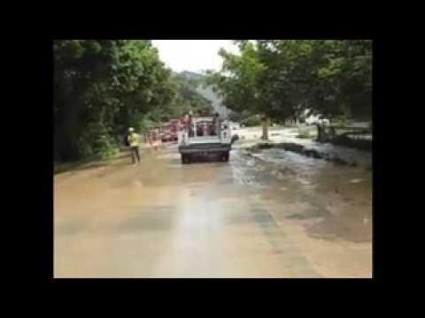 Logan canal mudslide home video