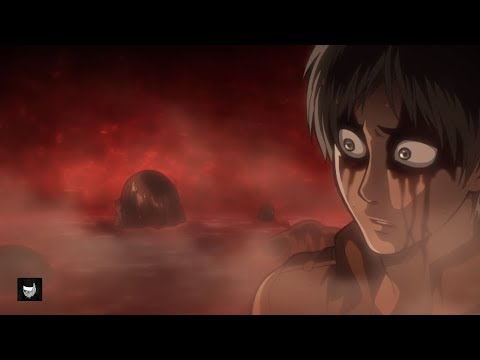 Eren transforms into