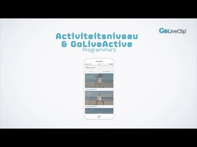 iOS Activiteitsniveau en GoLiveActive