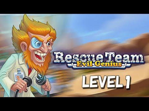 Rescue Team 9 Evil Genius PC LEVEL1 |