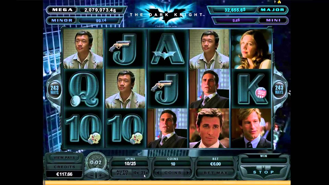 Play dark knight slot online who gives a crap emergency roll