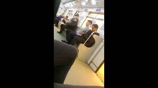 Драка в метро)))