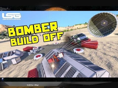 Build Off Silly Weaponry Parachute Bomb - Space Engineers