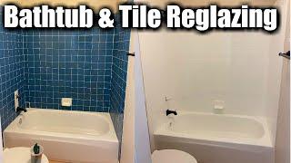 bathtub and tile reglazing how to reglaze a tile bathtub enclosure tub and tile refinishing
