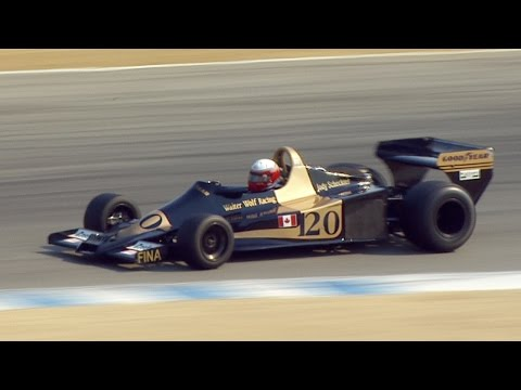 1967 - 1984 Formula One Cars - Rolex Monterey Motorsports Re