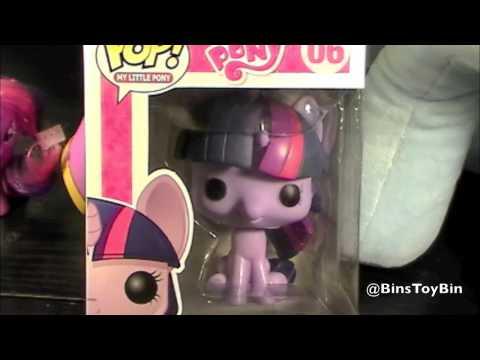WHERE'S JON'S BUILD-A-BEAR TWILIGHT!? & My Little Pony POP Funko Figure Review! By Bin's Toy Bin