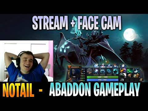 N0taiL - Abaddon Gameplay   with Gorgc + SingSing   STREAM FACE CAM with Commentary   Dota 2 Pro MMR