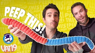 Peep This: WORLD'S LARGEST *SOUR* Gummy Worm! | Ep. #29