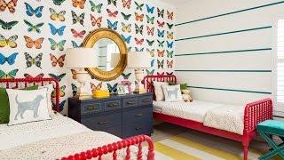 Обои для детской комнаты девочки. Подчеркиваем стиль и функциональность(, 2015-12-15T16:39:49.000Z)