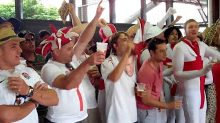 Cricket Video - Funny Barmy Army Songs, Gabba, Brisbane