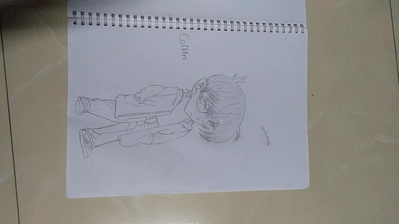 Tập 4 Vẽ thử Conan (vẽ anime)