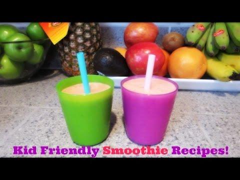 ❤ Kid Friendly Smoothie Recipes ❤