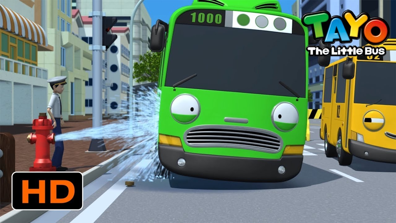Download Tayo English Episodes l Rogi and Water Disaster l Tayo the Little Bus