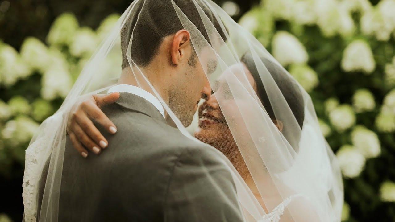 Romantic, Emotional Garden Wedding Film | Alex + Carlos | Sarah P ...