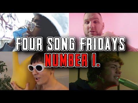 REACTING TO GERMAN RAP: K.I.Z. , K. RONALDO, EUNIQUE, AND FLER (FOUR SONG FRIDAYS #1)
