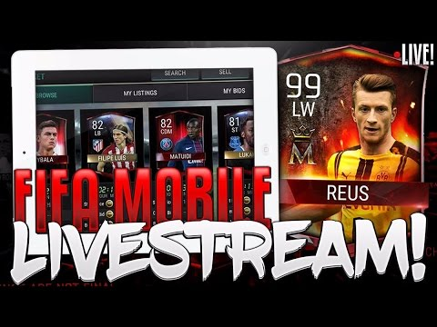 #FIFAMOBILE STREAM! SNIPING, PLANS, TEAM HEROES + MOREE!