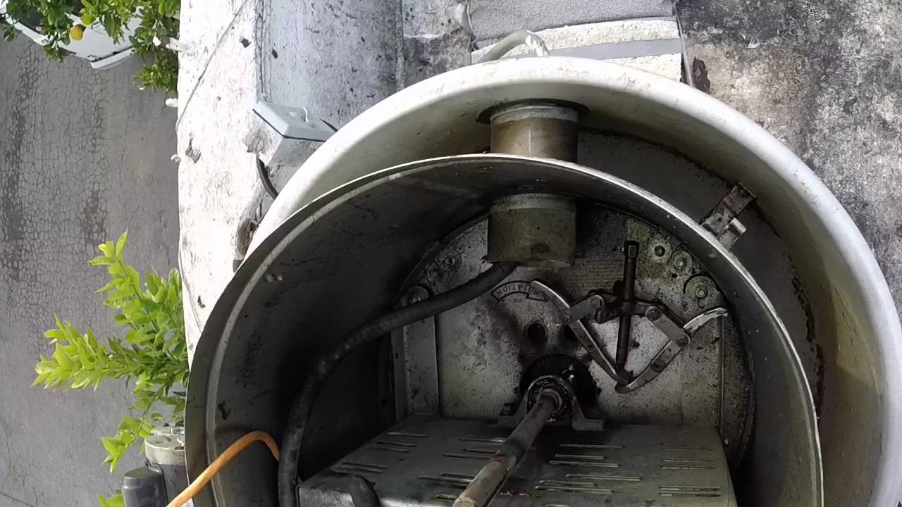 Kitchen Exhaust Fan Suspended Shelves Bearing Change Out - Youtube