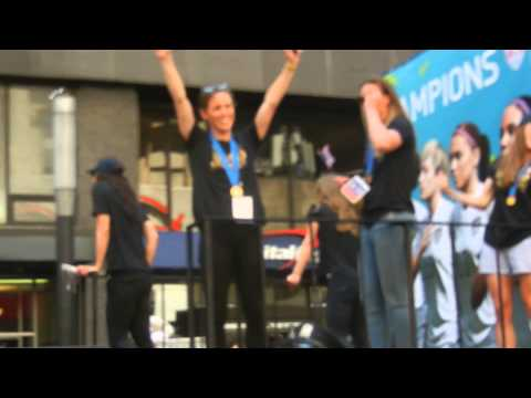 USWNT Ticker Tape Parade (Part 3)