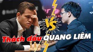 Lê Quang Liêm thi triển tuyệt kỹ quyết đấu vua cờ Magnus Carlsen