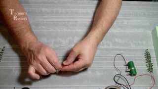 Изготовление веточки из бисера. Мастер-класс.Урок.