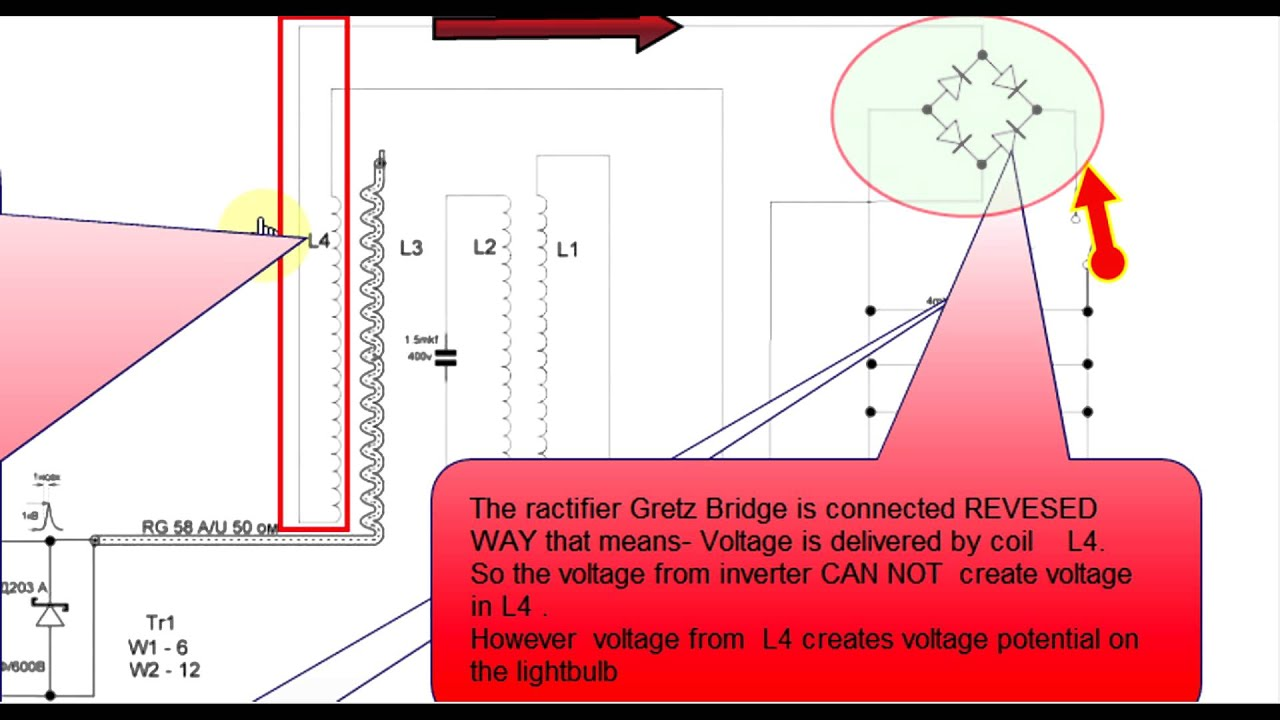 Free Energy Device Schematic Etfs Circuit Diagram Of Light Bulb Wesley Presents Daly Part 1