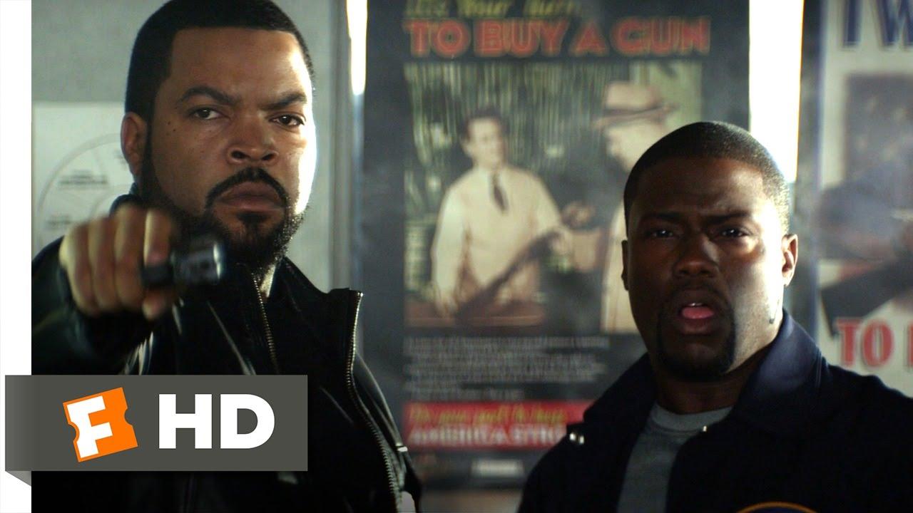 Ride Along (5/10) Movie CLIP - The Shooting Range (2014) HD