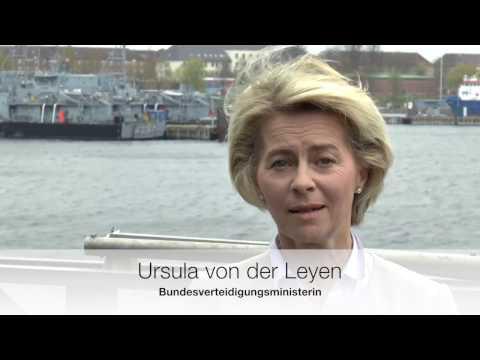 Ursula von der Leyen bei der Marine in Kiel
