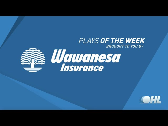 Wawansea Insurance OHL Plays Of The Week | 2019-2020 Season | Week 7
